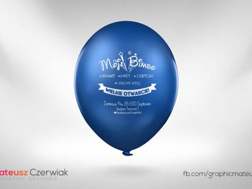 Balony reklamowe z logo oraz grafiką grafiką