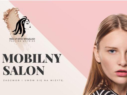 Strona internetowa dla kosmetyczki