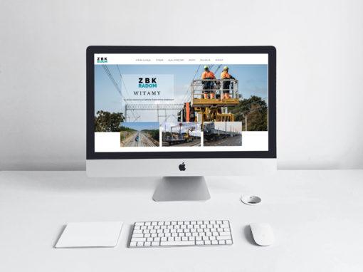 Strona internetowa dla ZBK RADOM