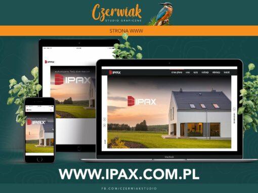 Kompleksowa realizacja strony internetowej dla firmy IPAX
